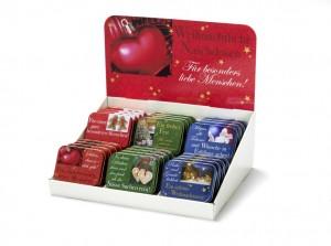 Weihnachtliche Naschdosen