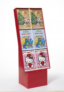 Adventskalender im Display